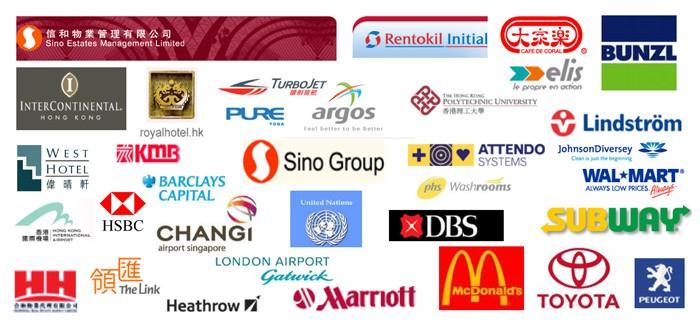 Wereldwijde klanten van BioZone Scientific International
