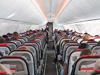Coronaproof werken in een vliegtuig op een Coronaproof locatie