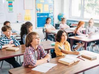 Coronaproof werken en leren in een school op een Coronaproof locatie