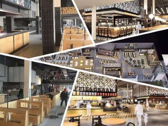Foodcourt Utrecht Jaarbeurs Kinepolis vergroot grootkeuken brandveiligheid met Nobel Fire Systems K-Serie keukenbrand blussysteem keuken