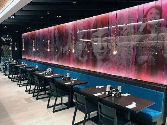 Kebaya Asian Brasserie op Amsterdam Schiphol investeert in grootkeuken brandveiligheid met het keukenbrand blussysteem keuken horeca.