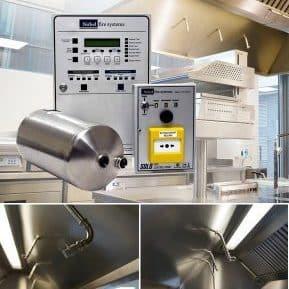 Nobel Fire Systems K-Series keukenbrand blussysteem keuken horeca