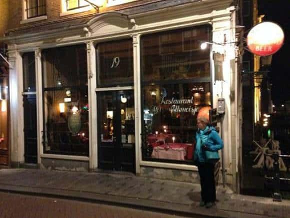 Restaurant Het Melkmeisje geurfilterkast horeca met Ozone Blaster